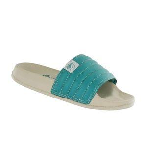 Cobian Kids Lil Koloa Slide - Turquoise- Size 2/3